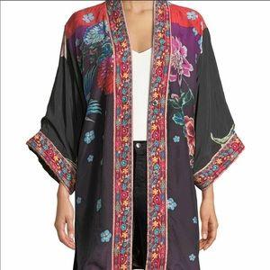 Johnny Was Vashti Kimono reversible floral XL
